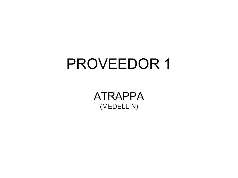 PROVEEDOR 1 ATRAPPA (MEDELLIN)