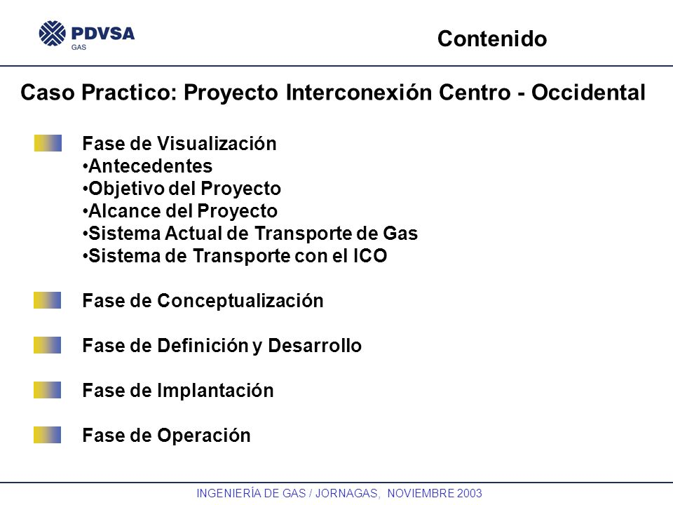 Caso Practico: Proyecto Interconexión Centro - Occidental