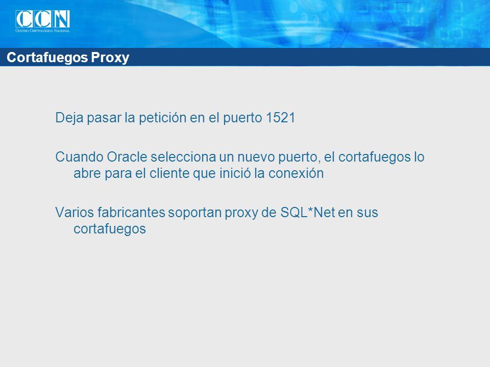 Cortafuegos Proxy
