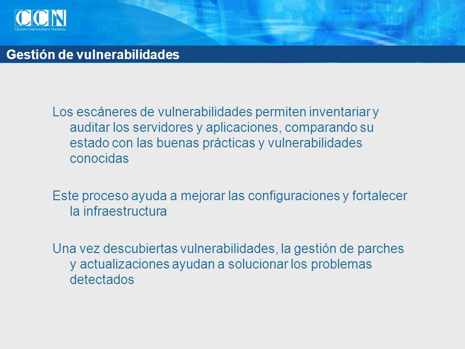 Gestión de vulnerabilidades