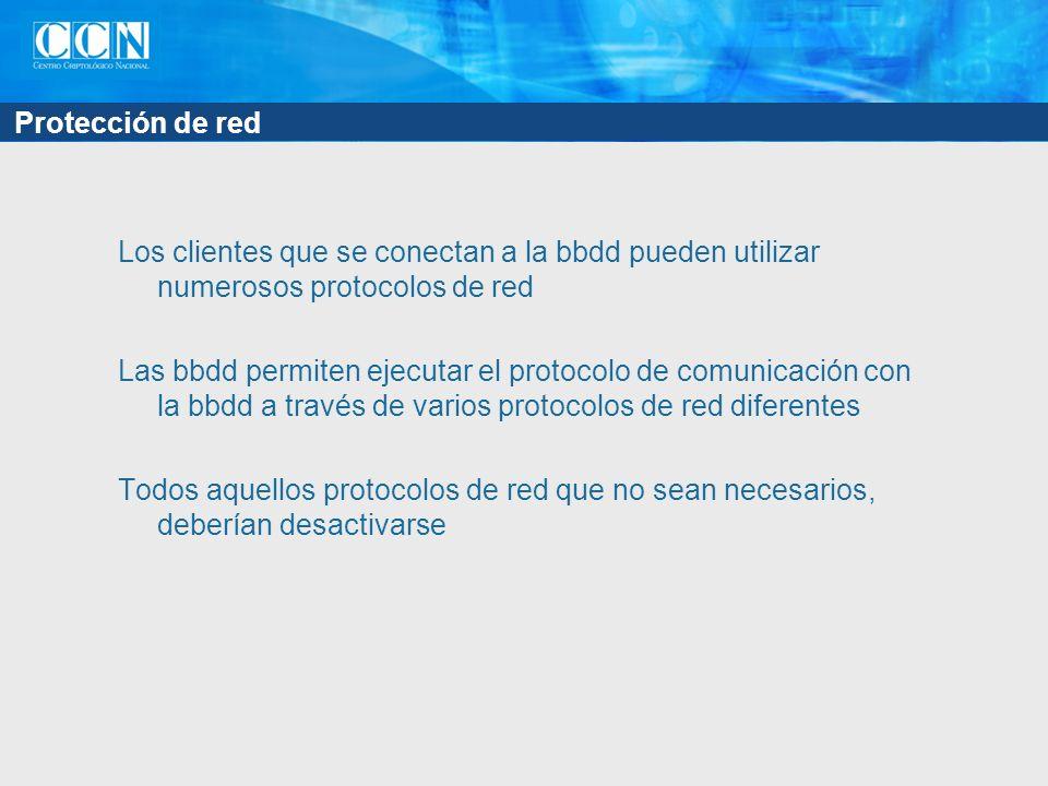 Protección de red