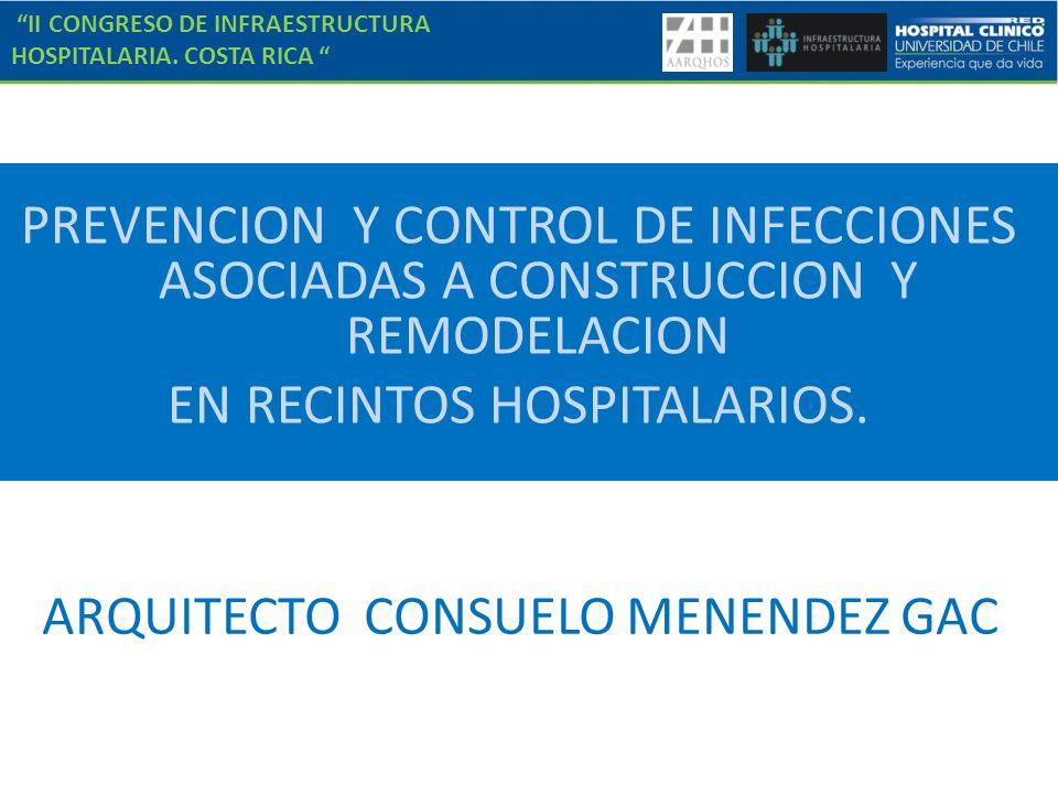 II CONGRESO DE INFRAESTRUCTURA HOSPITALARIA. COSTA RICA