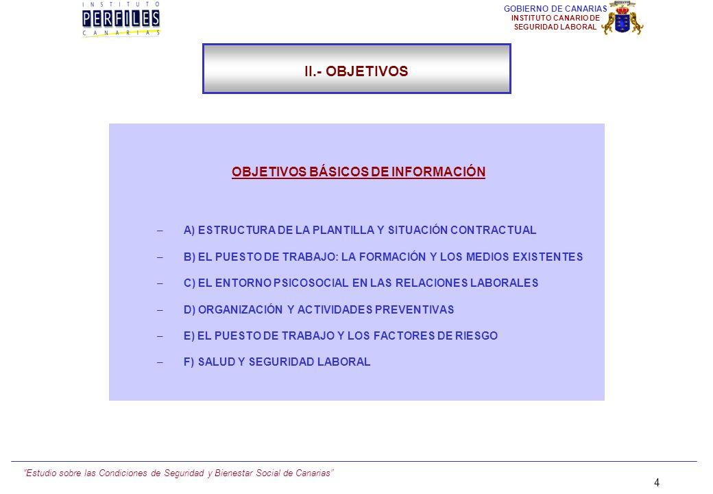 OBJETIVOS BÁSICOS DE INFORMACIÓN