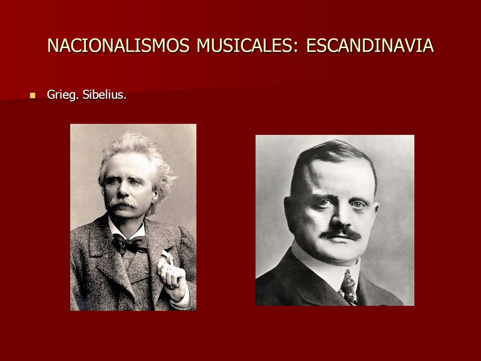 NACIONALISMOS MUSICALES: ESCANDINAVIA