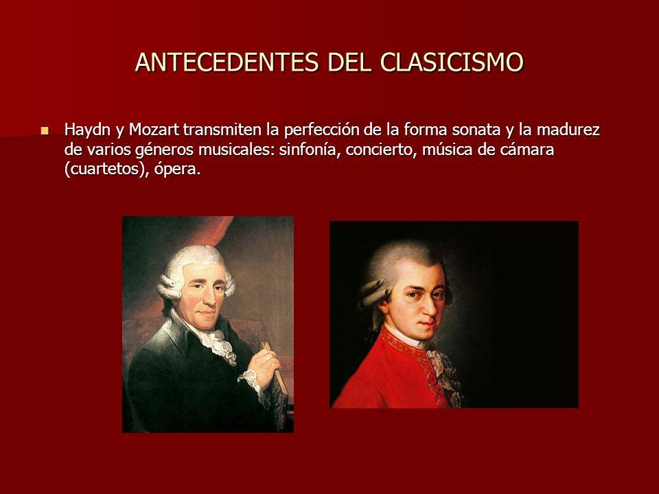 ANTECEDENTES DEL CLASICISMO