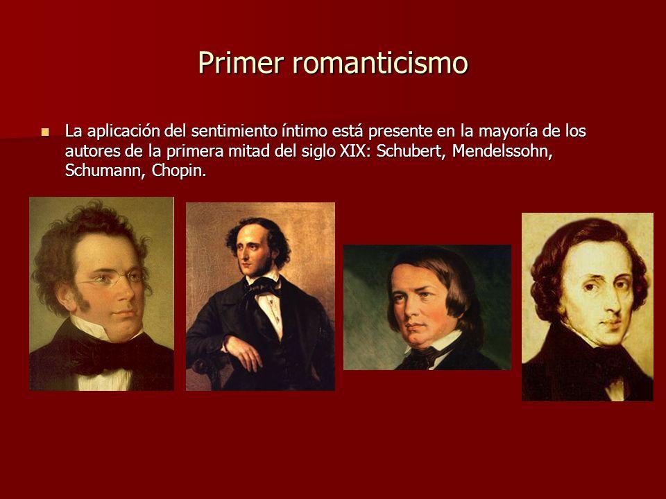 Primer romanticismo