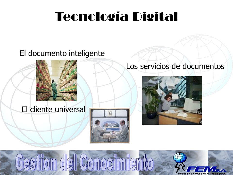 Tecnología Digital El documento inteligente