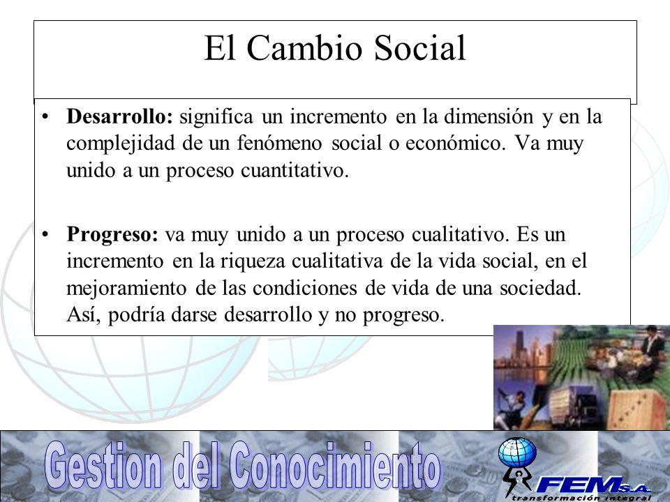 El Cambio Social