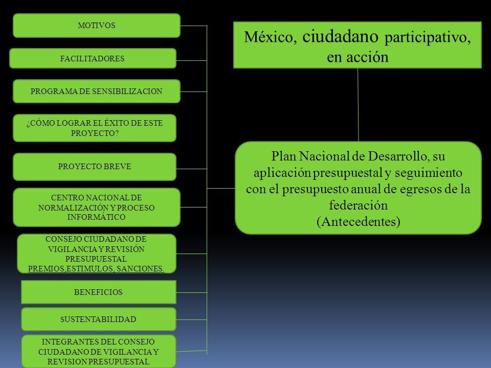 México, ciudadano participativo, en acción