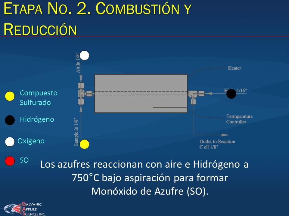 Etapa No. 2. Combustión y Reducción