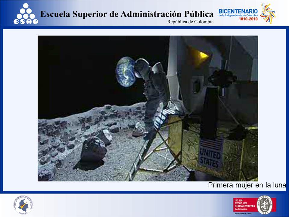 Primera mujer en la luna