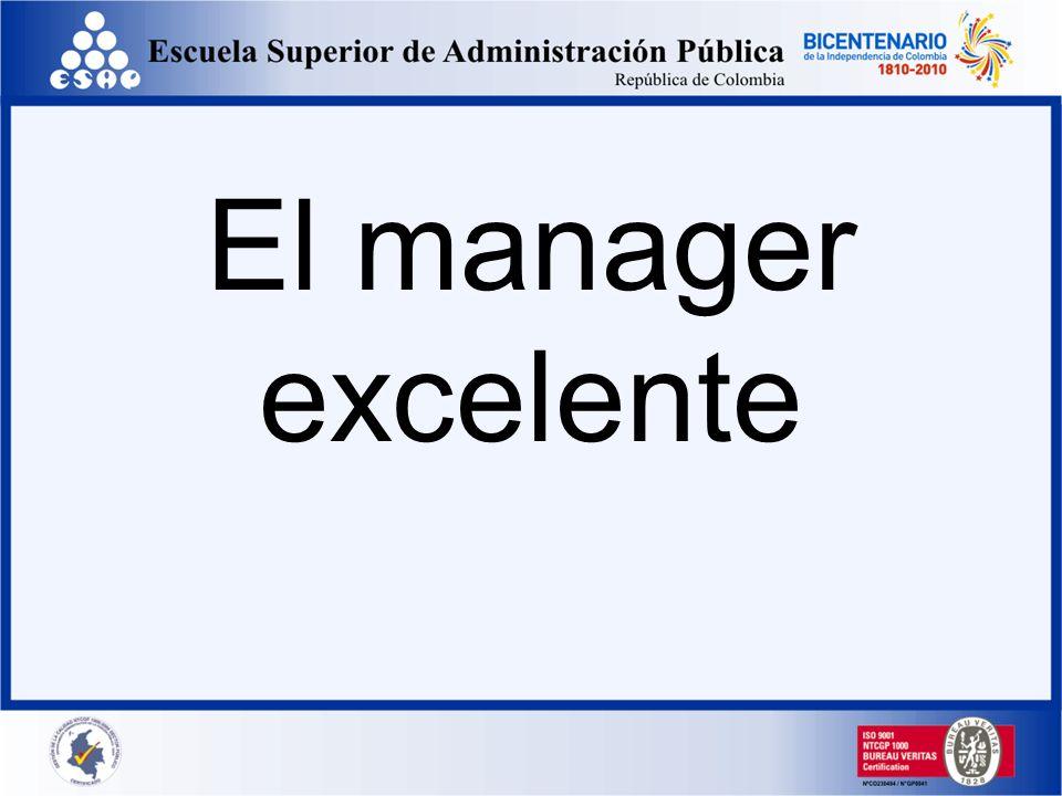 El manager excelente
