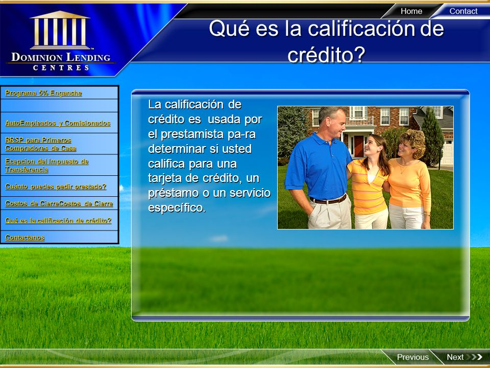 Qué es la calificación de crédito