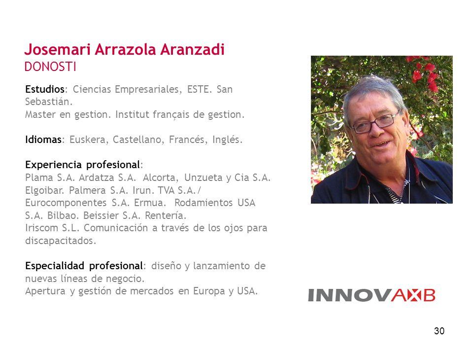 Josemari Arrazola Aranzadi