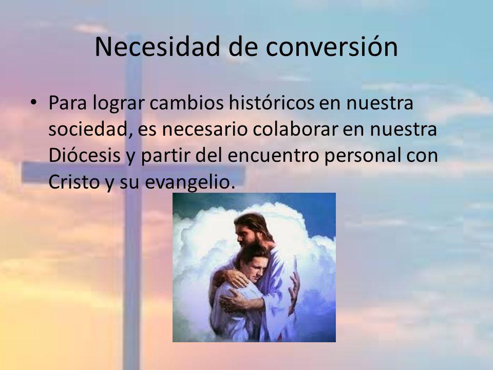 Necesidad de conversión