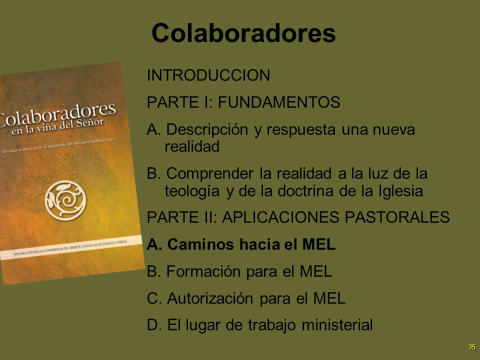 Colaboradores INTRODUCCION PARTE I: FUNDAMENTOS