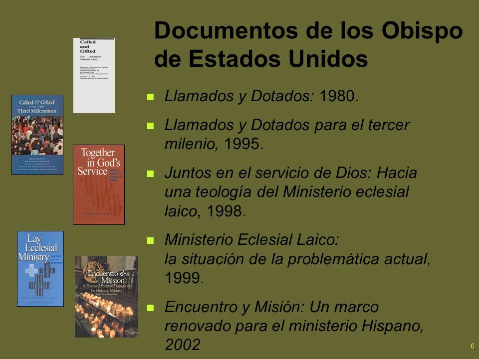 Documentos de los Obispo de Estados Unidos