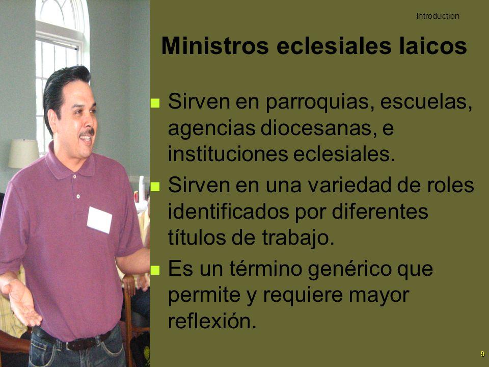 Ministros eclesiales laicos