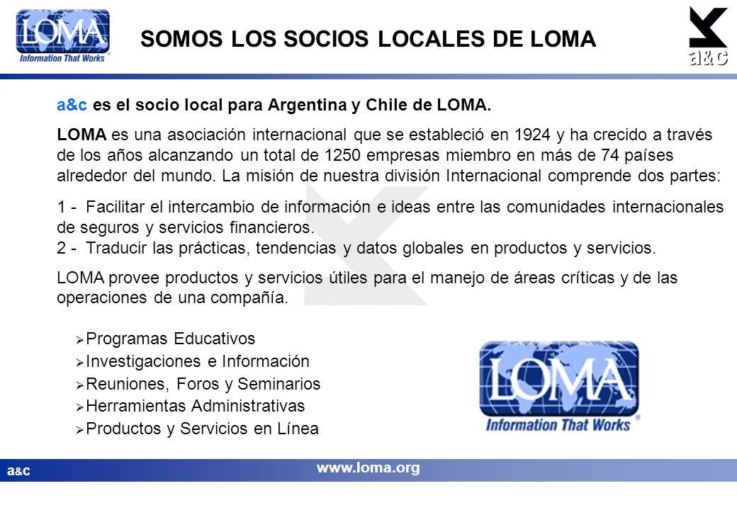 SOMOS LOS SOCIOS LOCALES DE LOMA