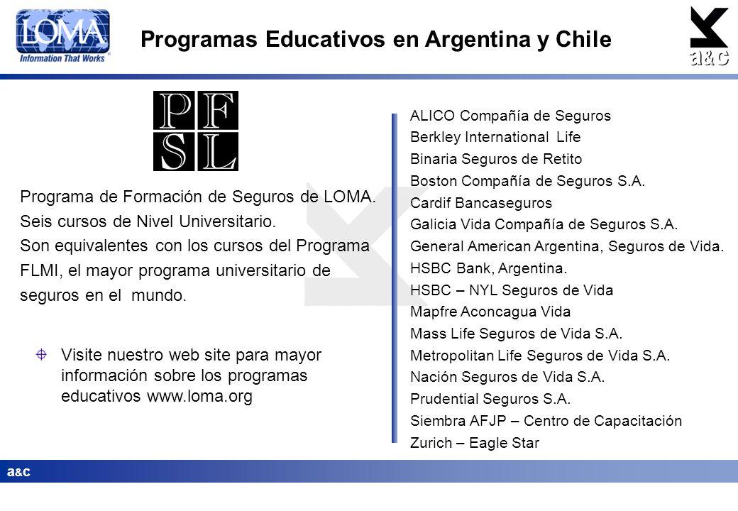 Programas Educativos en Argentina y Chile