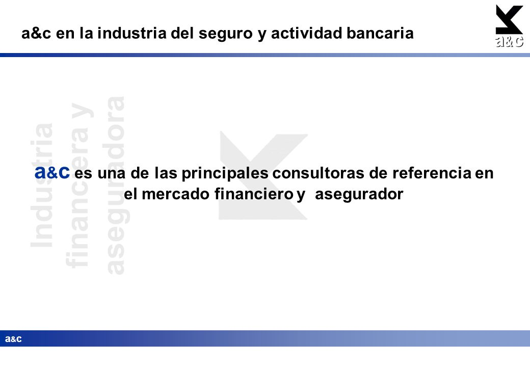 Industria financiera y aseguradora