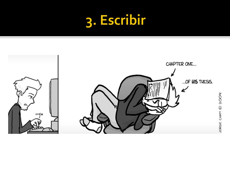 3. Escribir