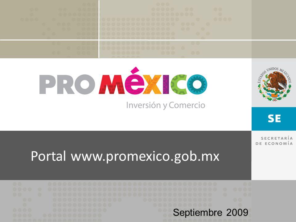Portal www.promexico.gob.mx