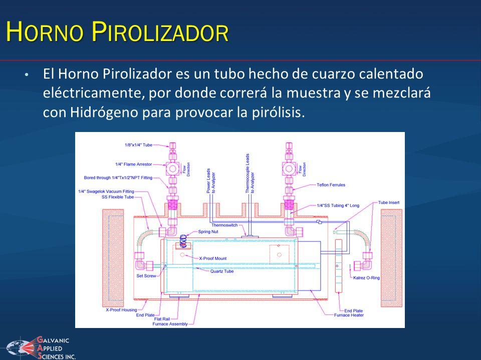 Horno Pirolizador