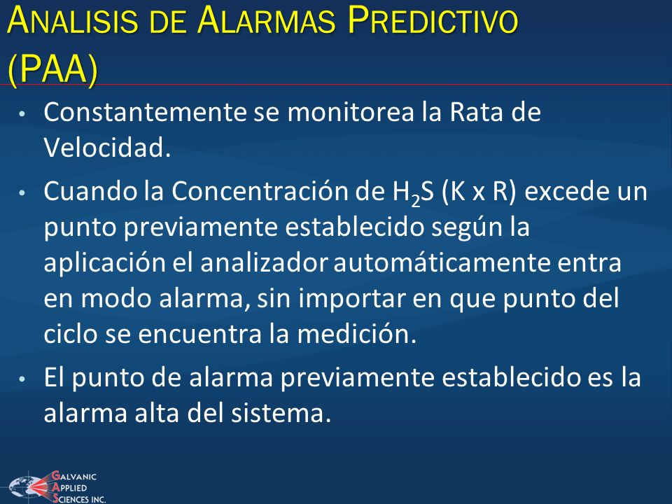 Analisis de Alarmas Predictivo (PAA)
