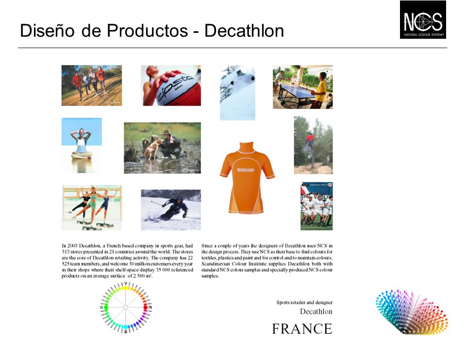 Diseño de Productos - Decathlon