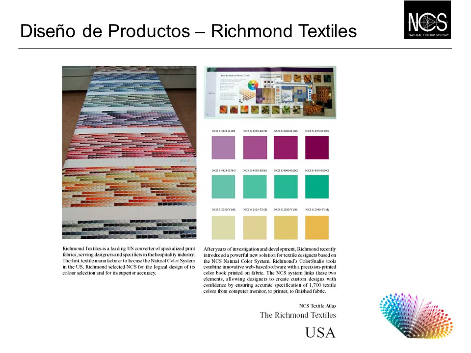 Diseño de Productos – Richmond Textiles