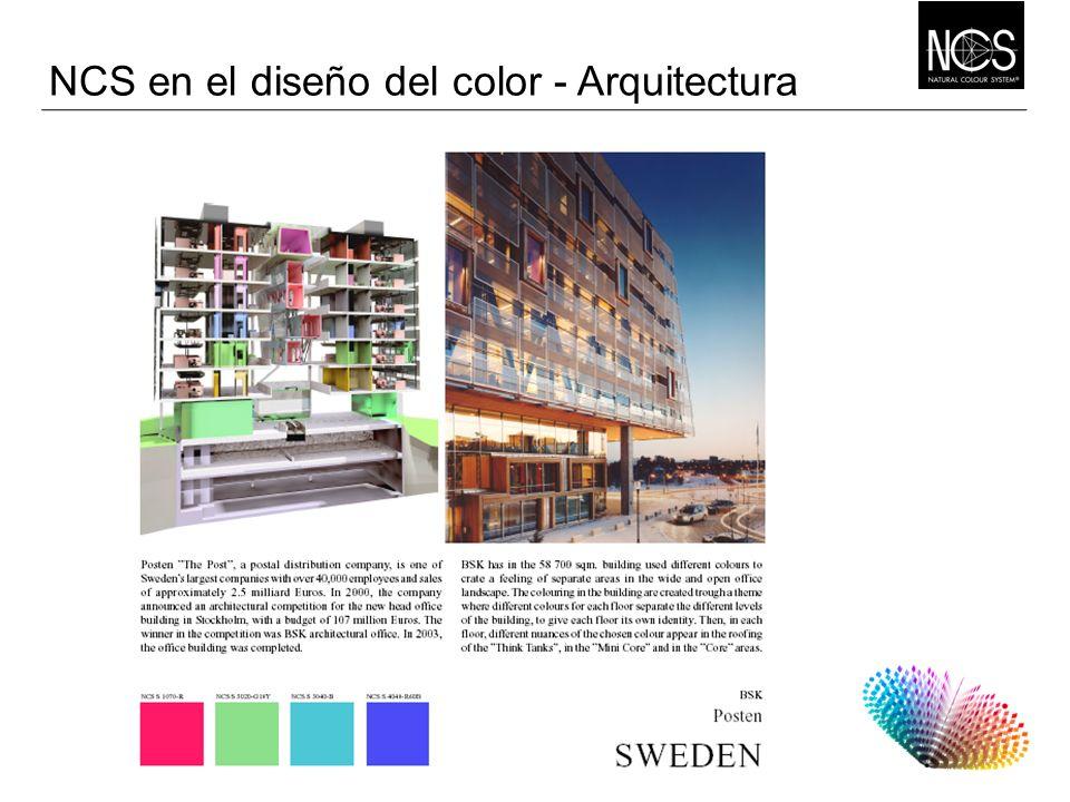 NCS en el diseño del color - Arquitectura