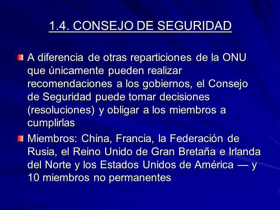 1.4. CONSEJO DE SEGURIDAD