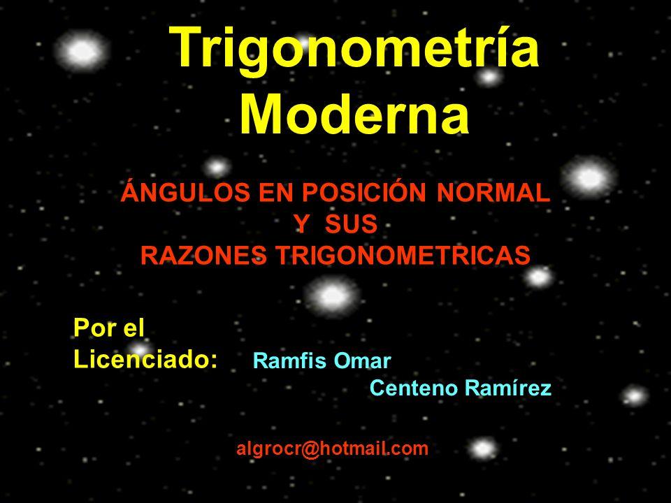 Trigonometría Moderna