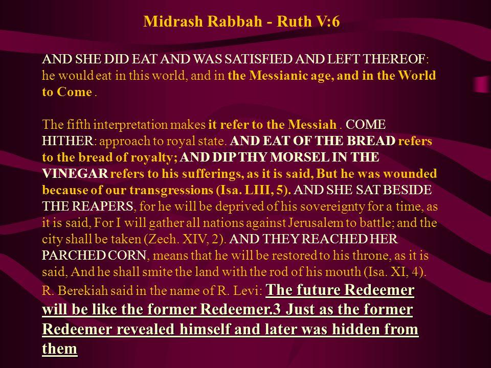 Midrash Rabbah - Ruth V:6
