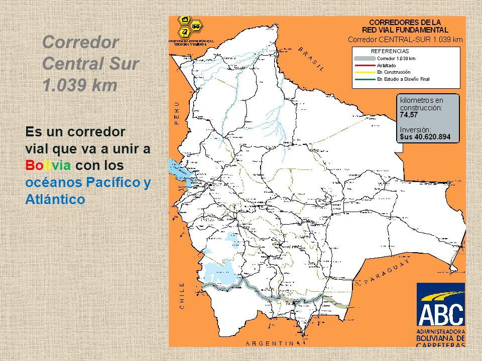 Corredor Central Sur 1.039 km