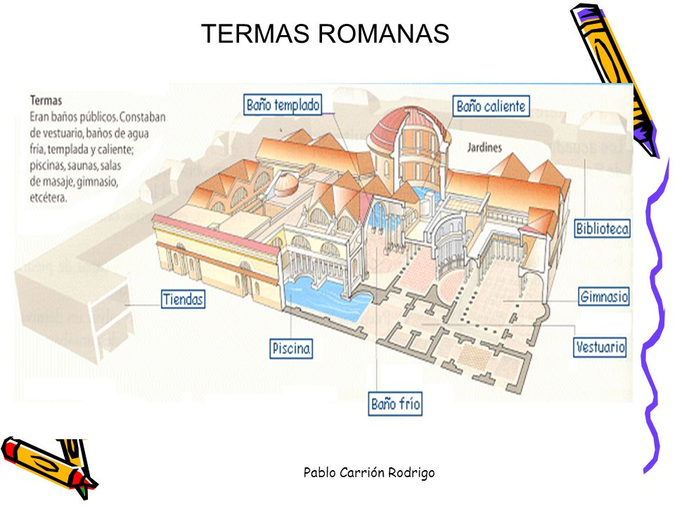 TERMAS ROMANAS Pablo Carrión Rodrigo