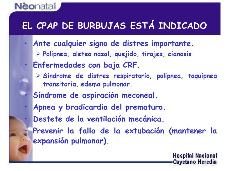 EL CPAP DE BURBUJAS ESTÁ INDICADO