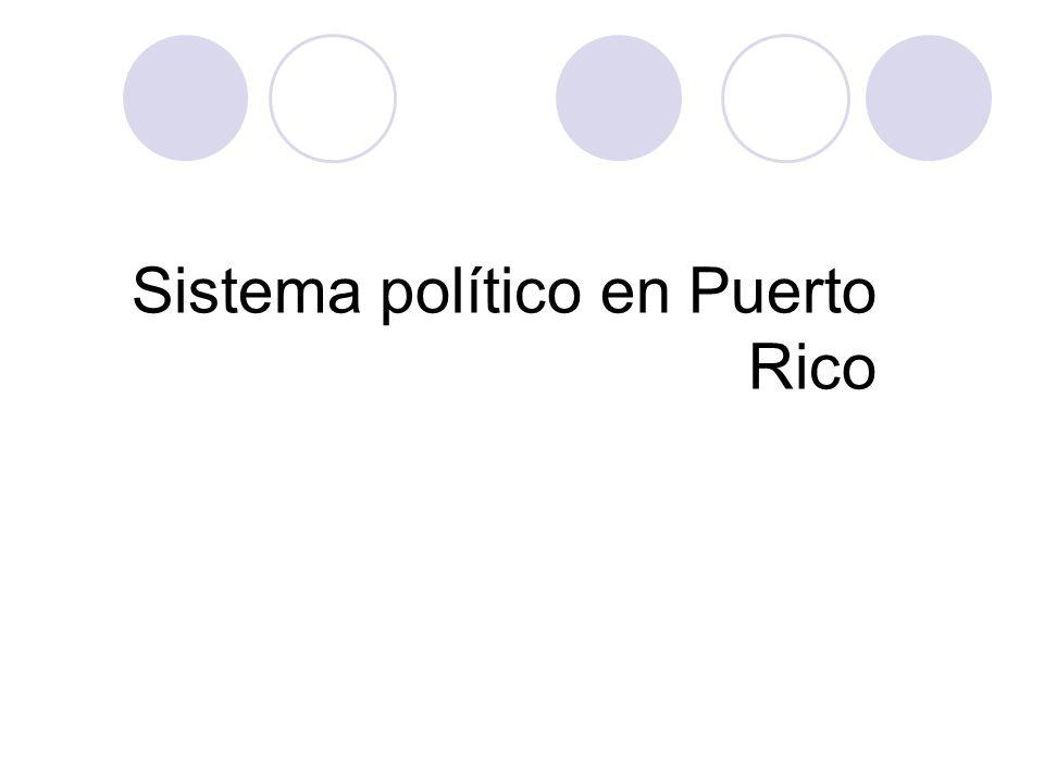 Sistema político en Puerto Rico