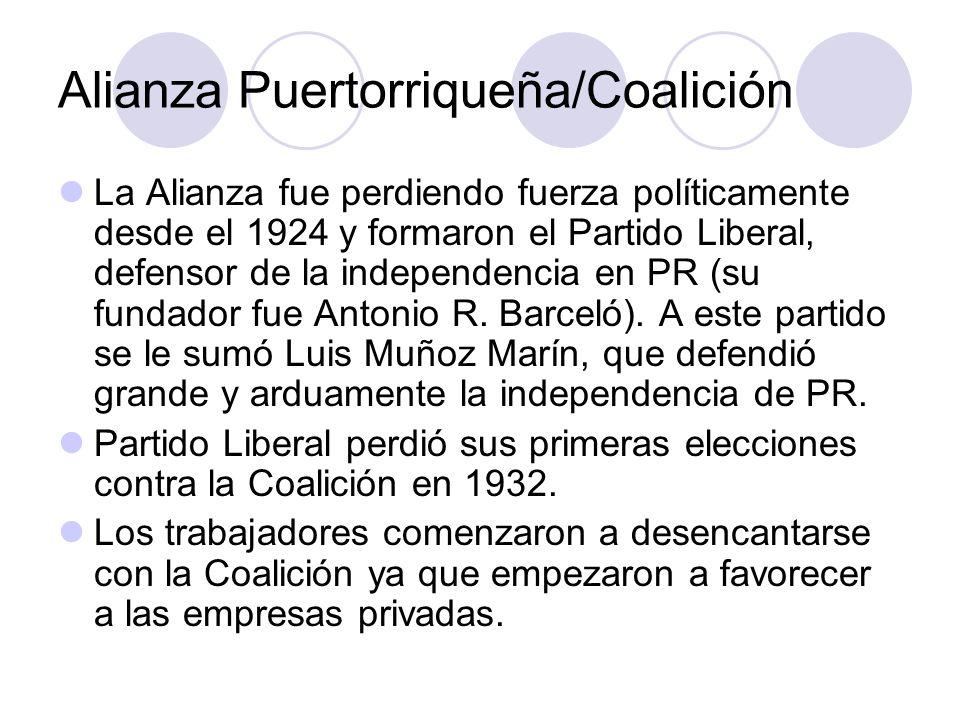 Alianza Puertorriqueña/Coalición