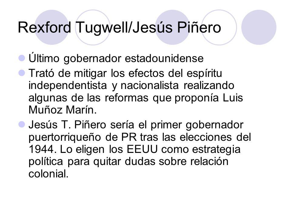 Rexford Tugwell/Jesús Piñero