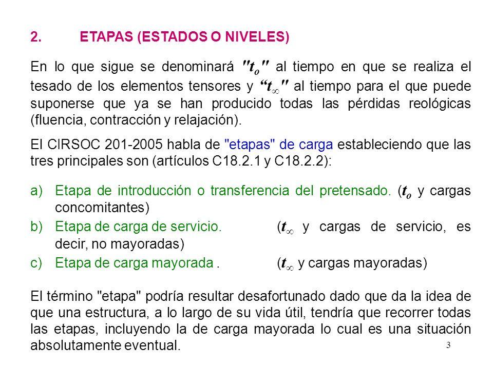 2. ETAPAS (ESTADOS O NIVELES)