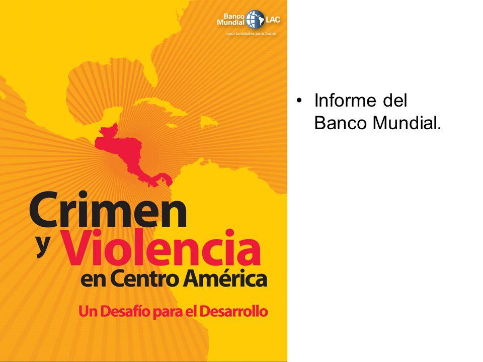 Informe del Banco Mundial.
