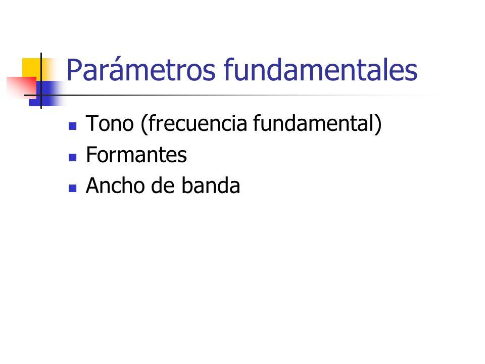 Parámetros fundamentales