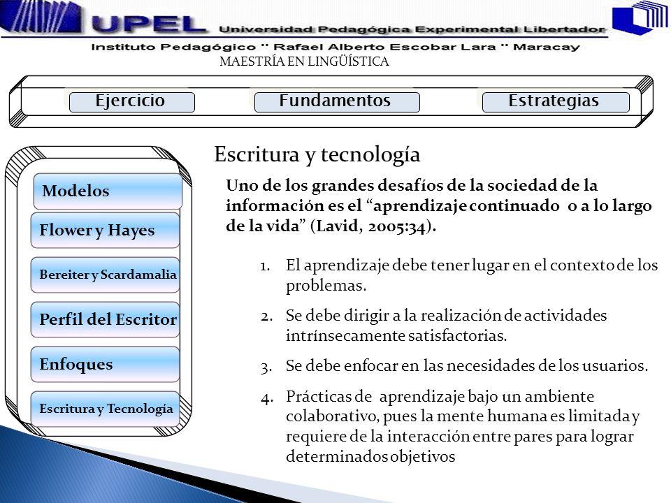Escritura y tecnología
