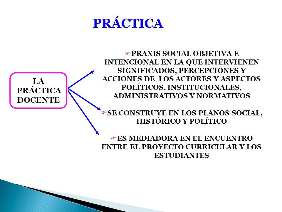 SE CONSTRUYE EN LOS PLANOS SOCIAL, HISTÓRICO Y POLÍTICO
