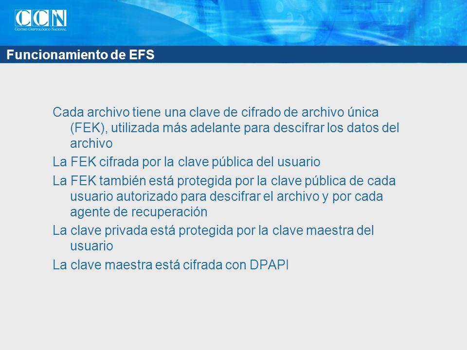 Funcionamiento de EFS