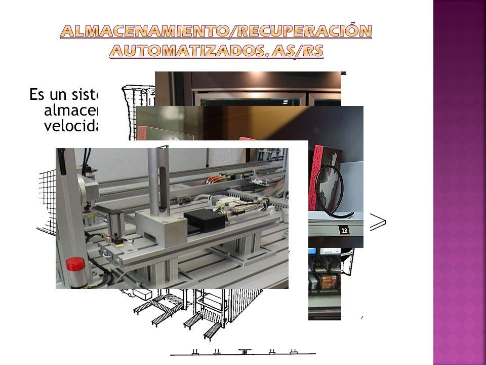 Almacenamiento/recuperación automatizados, AS/RS
