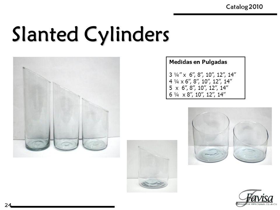 Slanted Cylinders Catalog 2010 Medidas en Pulgadas