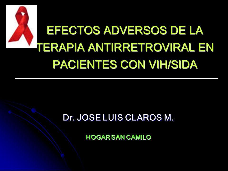 Dr. JOSE LUIS CLAROS M. HOGAR SAN CAMILO